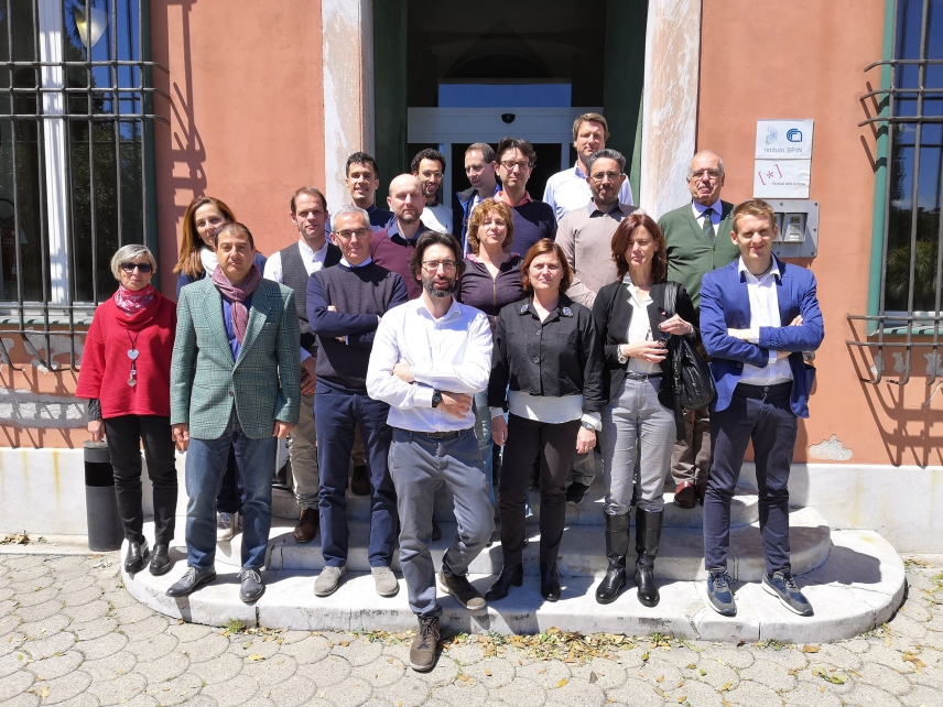 kick-off meeting of the H2020 FET OPEN project OXiNEMS